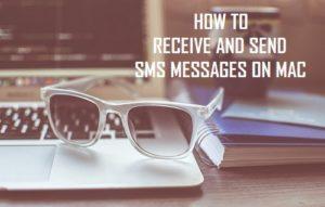 Cómo recibir y enviar mensajes de texto SMS en Mac