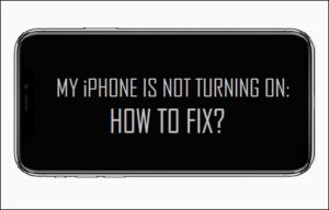 Mi iPhone no está encendido: ¿cómo arreglarlo?