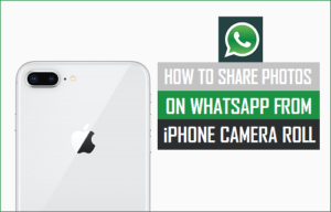 Cómo compartir fotos en WhatsApp desde el rollo de cámara del iPhone