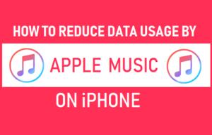 Cómo reducir el uso de datos mediante la música de Apple en el iPhone