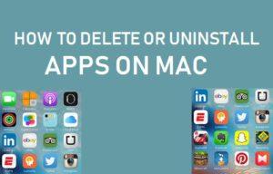 Cómo eliminar o desinstalar aplicaciones en Mac