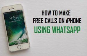 Cómo hacer llamadas gratis en el iPhone con WhatsApp
