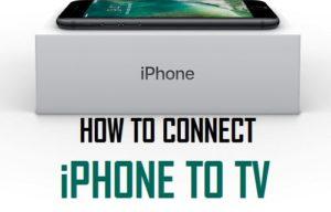 Cómo conectar el iPhone al televisor