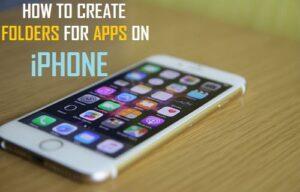 Cómo crear carpetas para aplicaciones en el iPhone