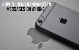 Cómo enviar mensajes escritos a mano en tu iPhone