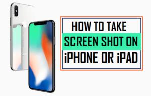 Cómo tomar la captura de pantalla en iPhone o iPad