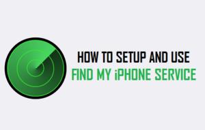 Cómo configurar y utilizar Find My iPhone Service