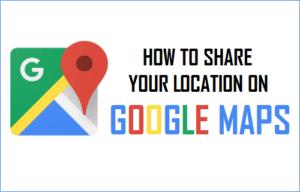 Cómo compartir su ubicación en Google Maps