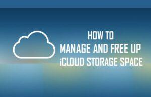 Cómo administrar y liberar espacio de almacenamiento iCloud
