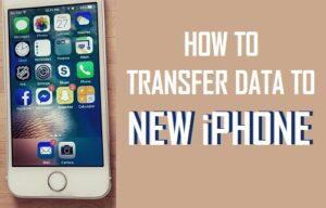 Cómo transferir datos al nuevo iPhone