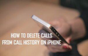 Cómo borrar llamadas del Historial de llamadas en el iPhone