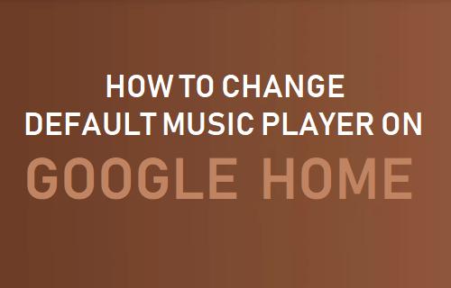 Cómo cambiar el reproductor de música predeterminado en la página de inicio de Google